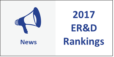 2017 ER&D Rankings: And the Winner Is….