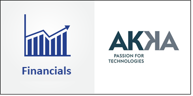 Sharp Revenue Slowdown for Akka in Q4. Stock down 18%