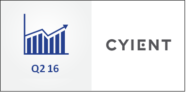 Cyient: Strong Rebound in Q1 FY 2016 Thanks to Communication Industry and Rangson