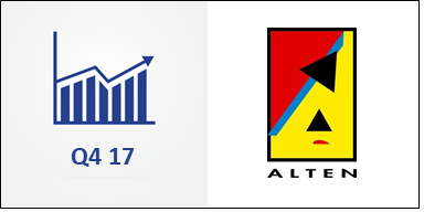 Alten Up 10% in Q4 and Up 8% in 2017. Expects a Solid Performance in 2018