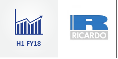 Ricardo Surprises with a 9% Revenue Growth in H1 FY18